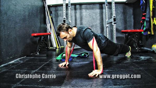 Améliorer force et explosivité grâce aux élastiques avec Christophe Carrio