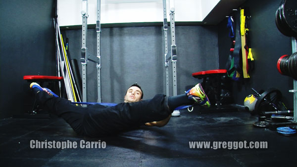 Stretching : Etirements actifs avec Christophe Carrio