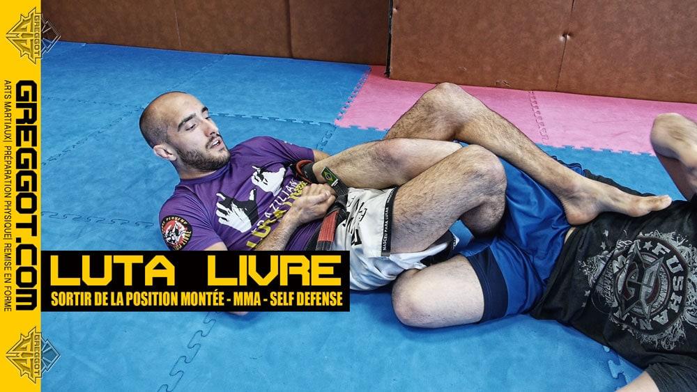 Luta Livre – MMA : sortir de la position montée