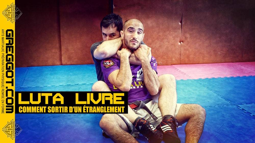 Luta Livre – MMA : sortir d'un étranglement
