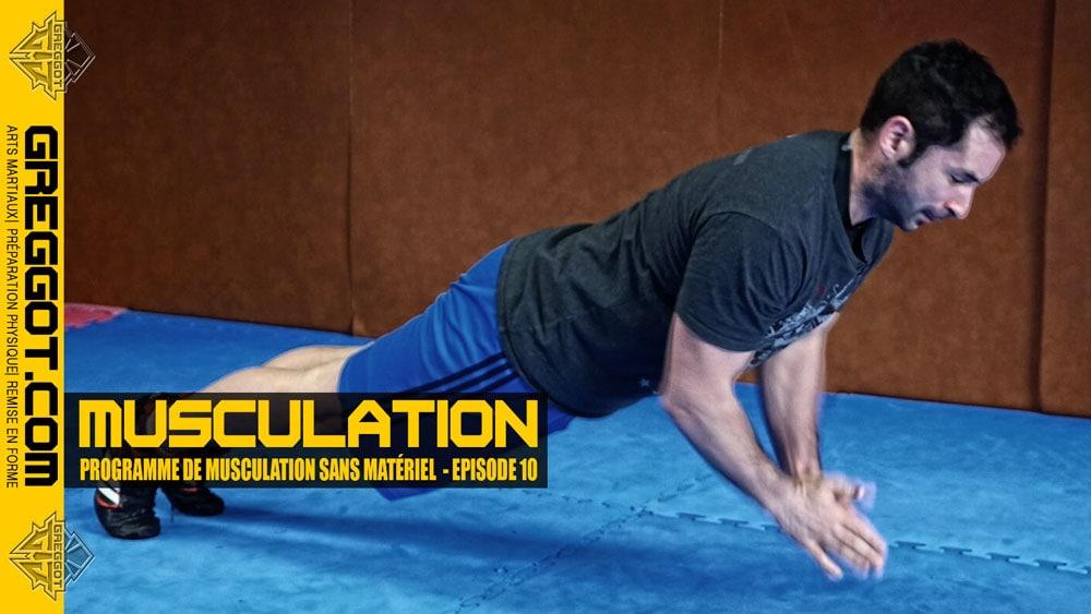 Musculation – Programme sans matériel | Episode 10