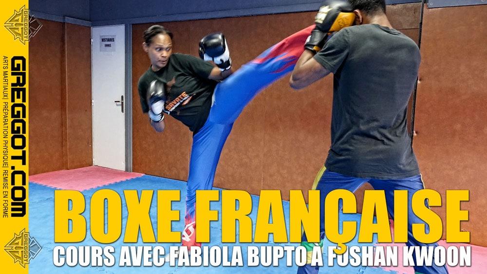 Savate Boxe Française : Coups de pied de base