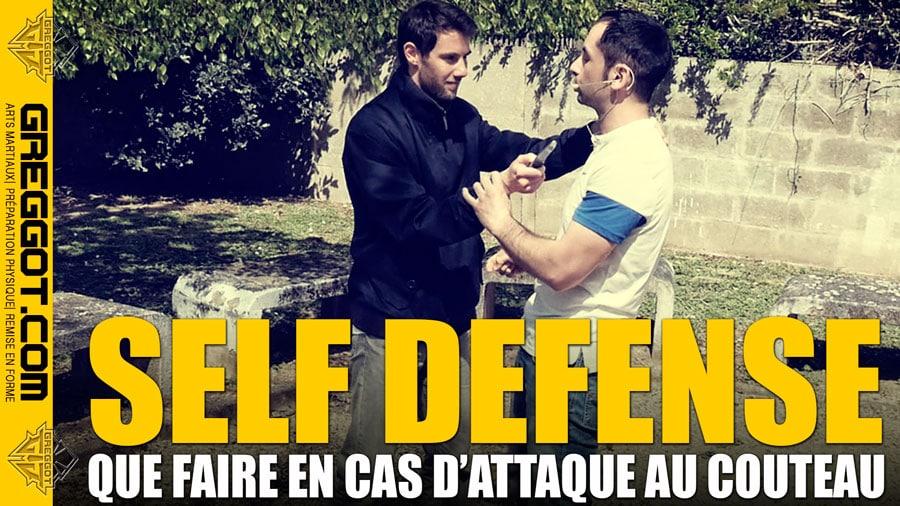 Self Defense : Que faire en cas d'attaque au couteau ?