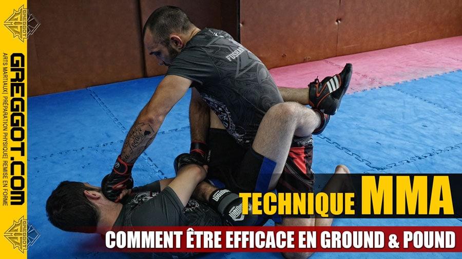 Technique MMA avec Johnny Frachey – Ground & Pound comme un Pro