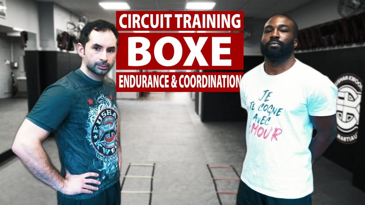CIRCUIT TRAINING BOXE: ENDURANCE & COORDINATION | GREGGOT & RIKAANS